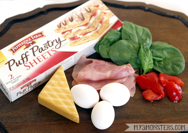 Pepperidge Farms Puff Pasty Brunch Recipe - Torte Milanese at my3monsters.com