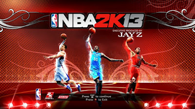 NBA 2K13 New Start up Screen