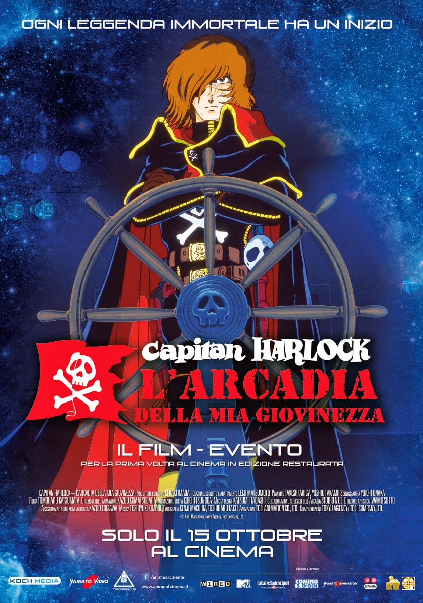 Harlock Arcadia della mia giovinezza film recensione