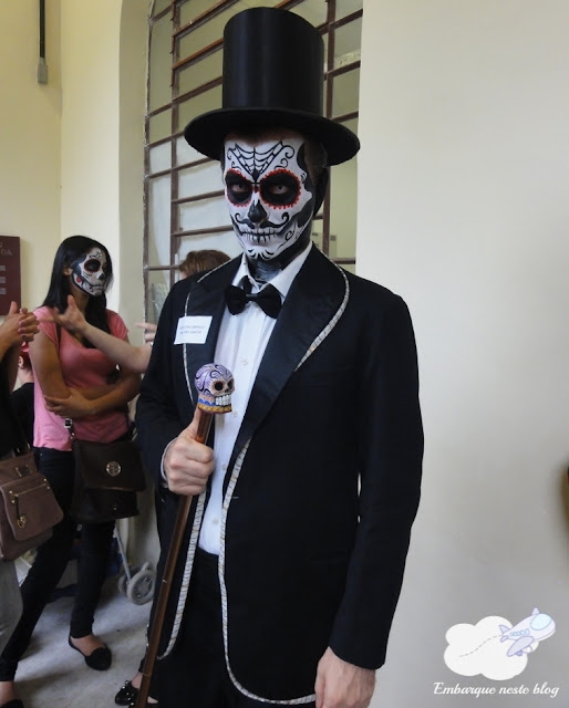 Día de los Muertos, México. Museu da Imigração