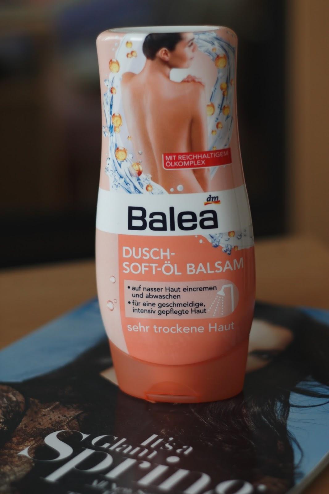 Balea olejový balzam do sprchy