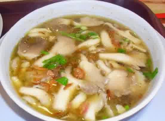Sup Jamur Enoki Oyong