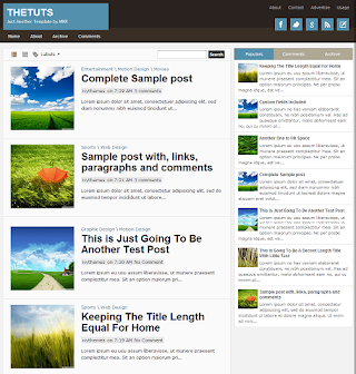 TheTuts Blogger Template