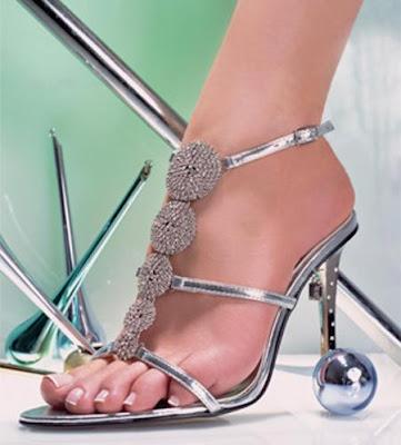 Latest Fancy Metro Shoes Bridal Sandal