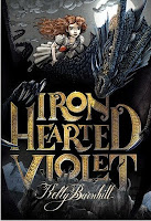 iron hearted violet by kelly barnhill book cover