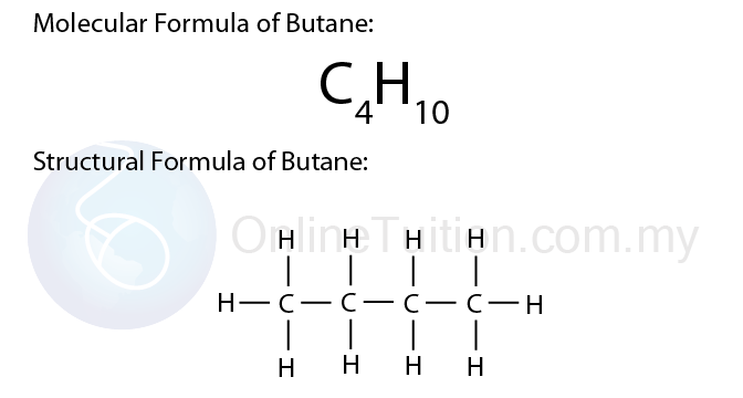 a structural formula is a chemical formula which shows the arrangement of the atoms in a molecule of a substance