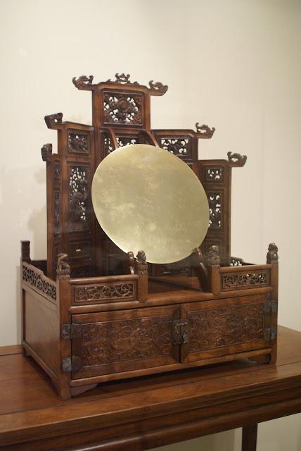 chinese mirror stand