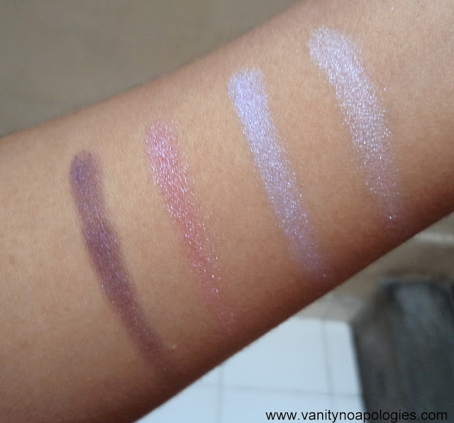 lily cole eyeshadows