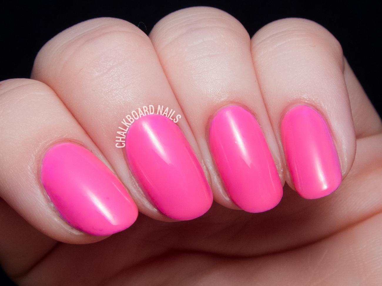 China Glaze Glow With the Flow via @chalkboardnails