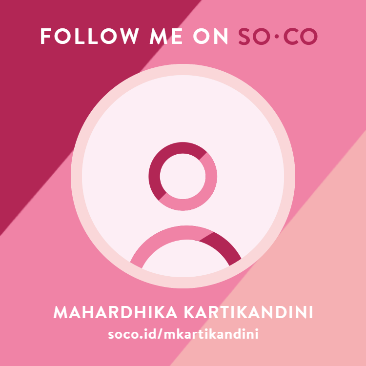 Follow me on SOCO!