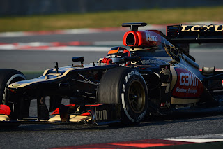 kimi raikkonen barcelona tests 2013