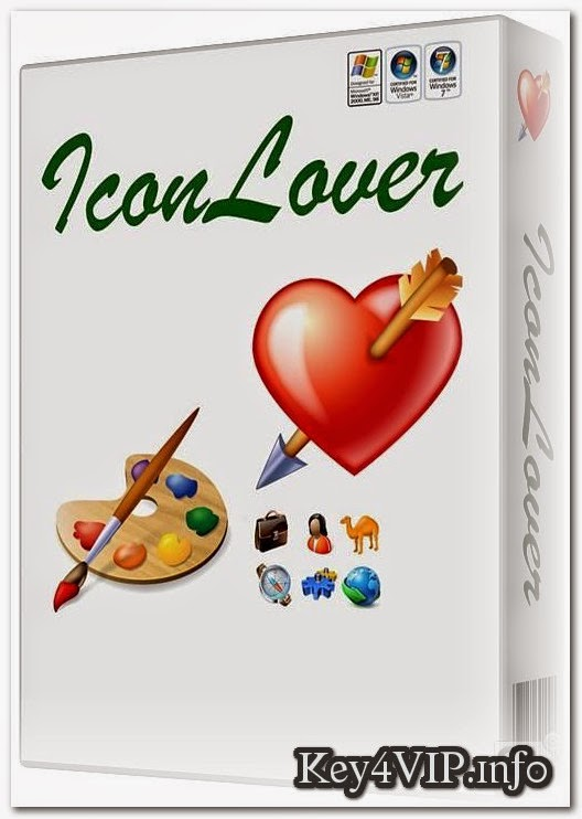 IconLover 5.40 Full Key,Phần mềm tạo icon dễ dàng từ file ảnh
