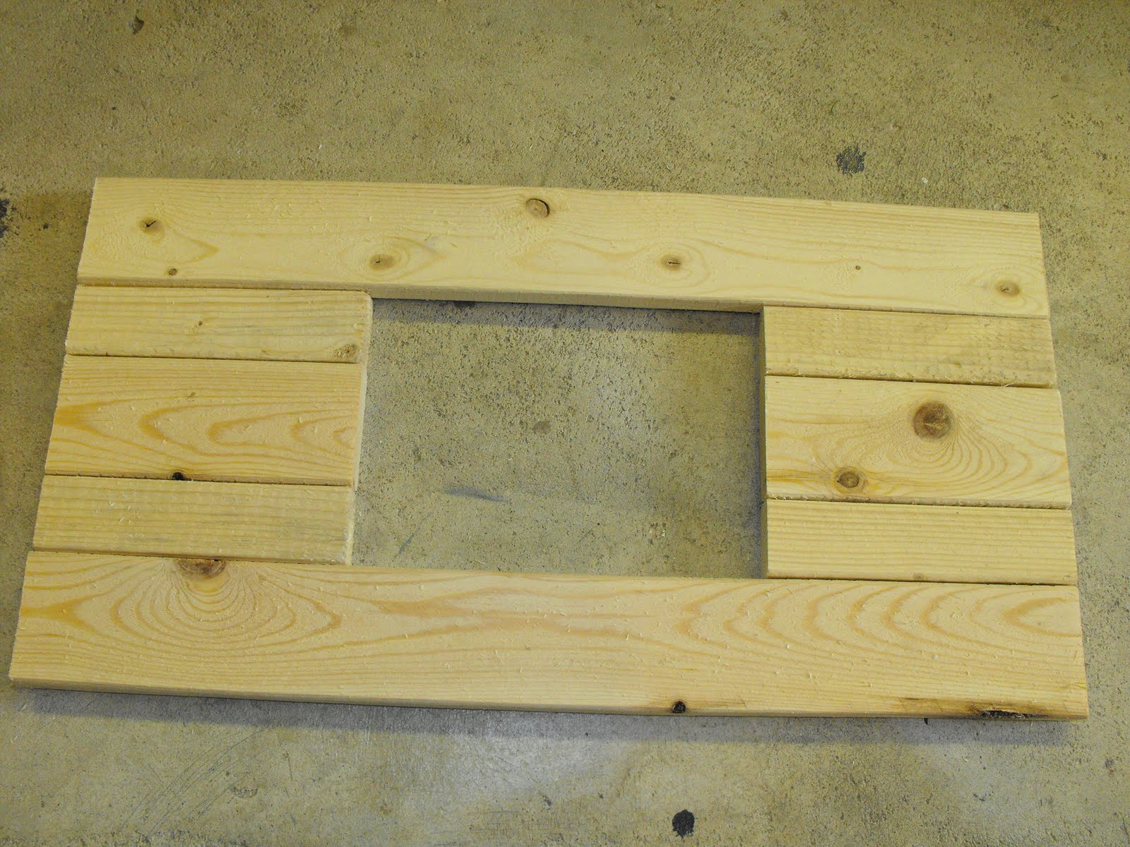 At Home With K Summer Time Wood Plank Picture Frame