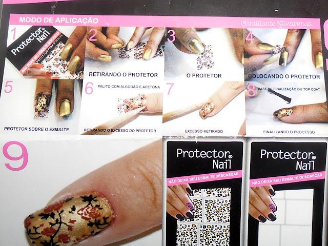 Como usar protetor nail