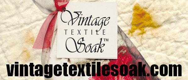 Vintage Textile Soak