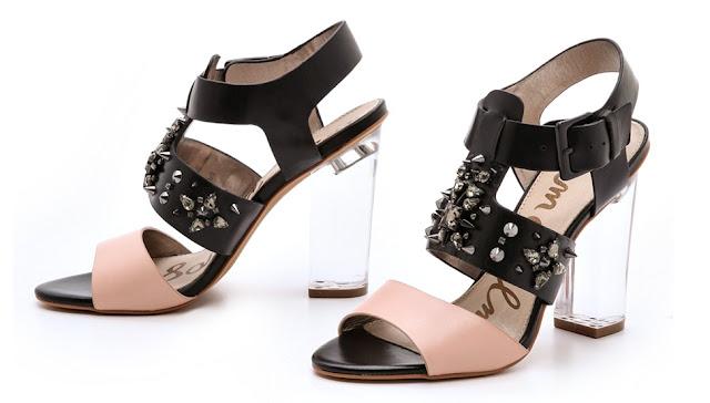 b7229c16601937 Sam Edelman Yara Chunky Heel Sandals ~ High Heel Sandals