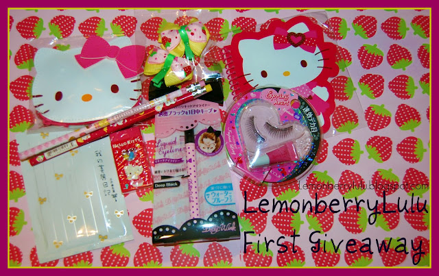 Lulu's First Mini Giveaway!