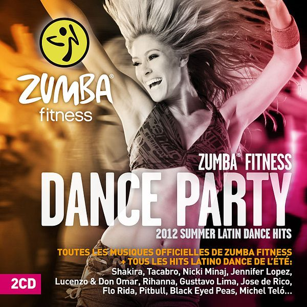 zumba dance fitness party 2012 CD by universal music