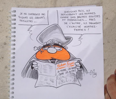 Dessin satirique - Guillaume Néel ©