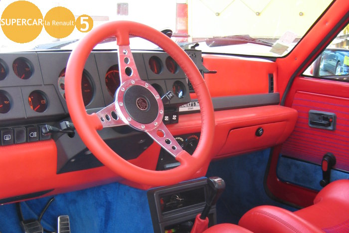 Blog tout sur la renault 5 interieur de renault 5 turbo for Renault 9 interieur