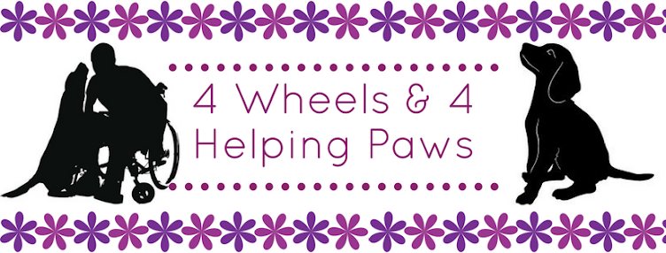 4 Wheels & 4 Helping Paws