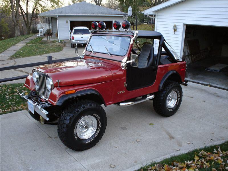 Modifikasi Mobil Jeep CJ-7 Tahun 79