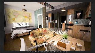 غرفة نوم مودرن