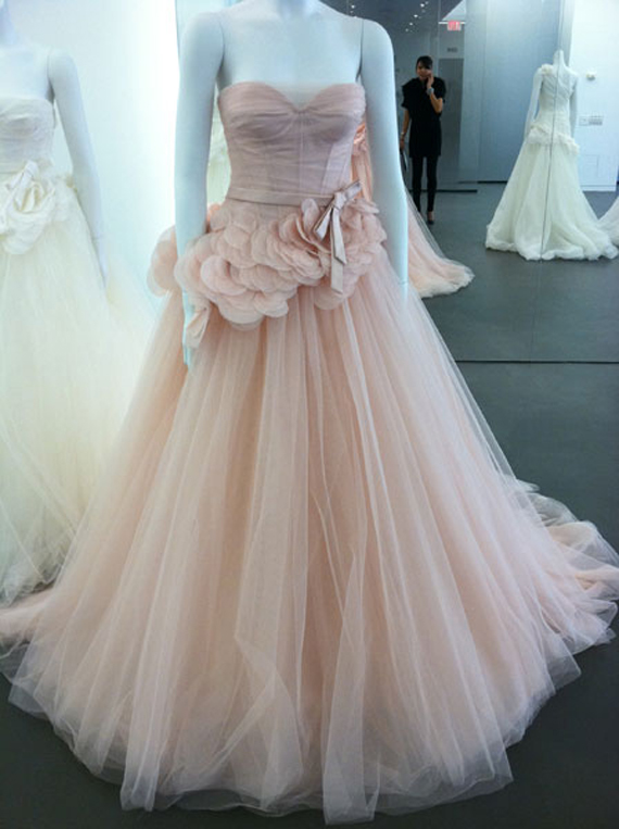 Images Of Blush Wedding Dresses : Wedding inspiration center stunning blush gowns designs