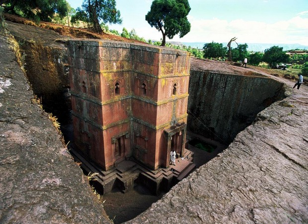 Underground Churches, Lalibela, Ethiopia