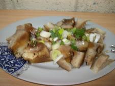 齊東街麵食老攤滷豬頭皮
