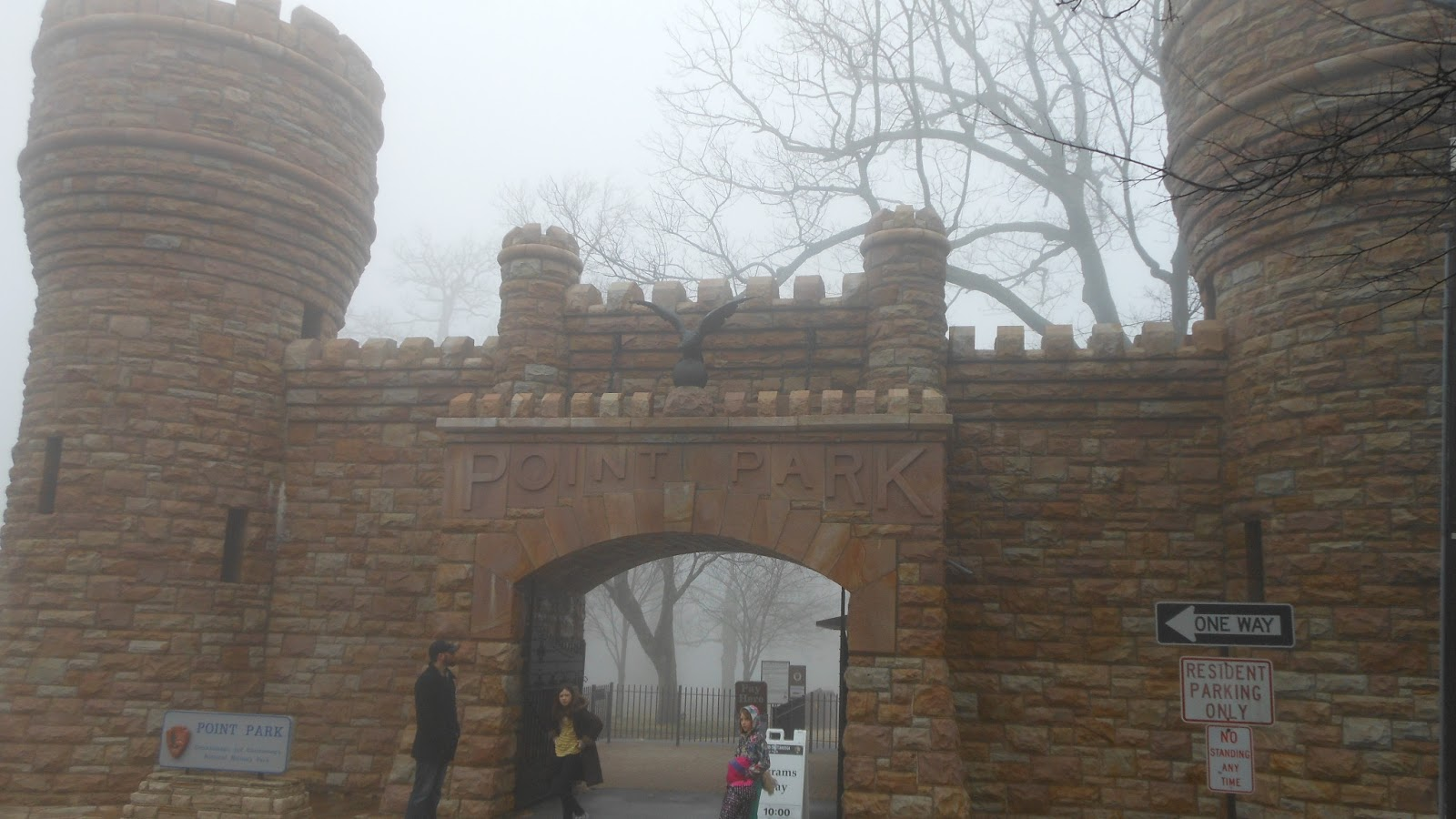 Point Park entrance 