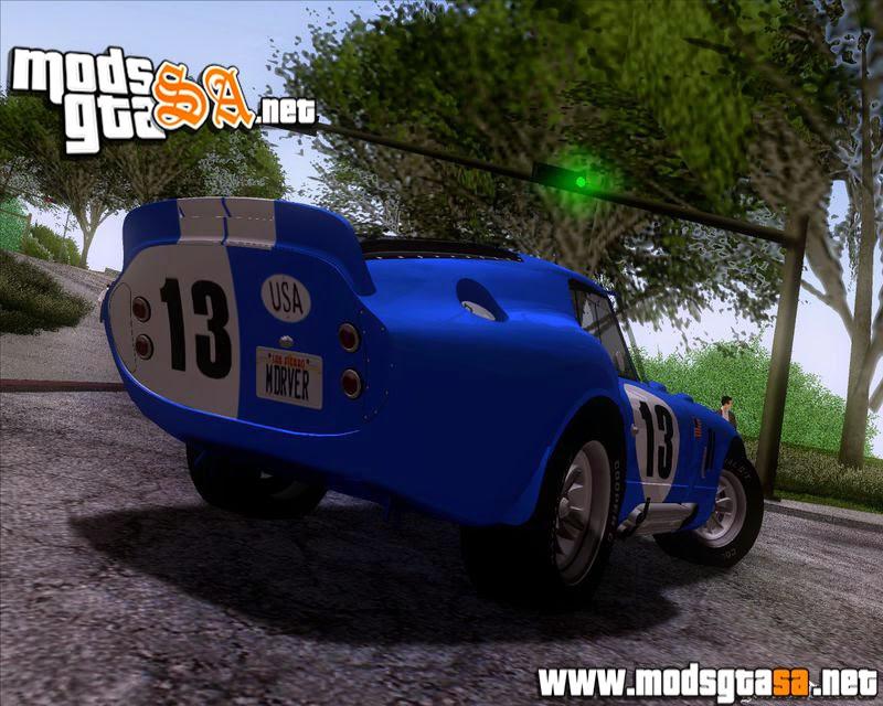 SA - Shelby Cobra Daytona Coupe 1965