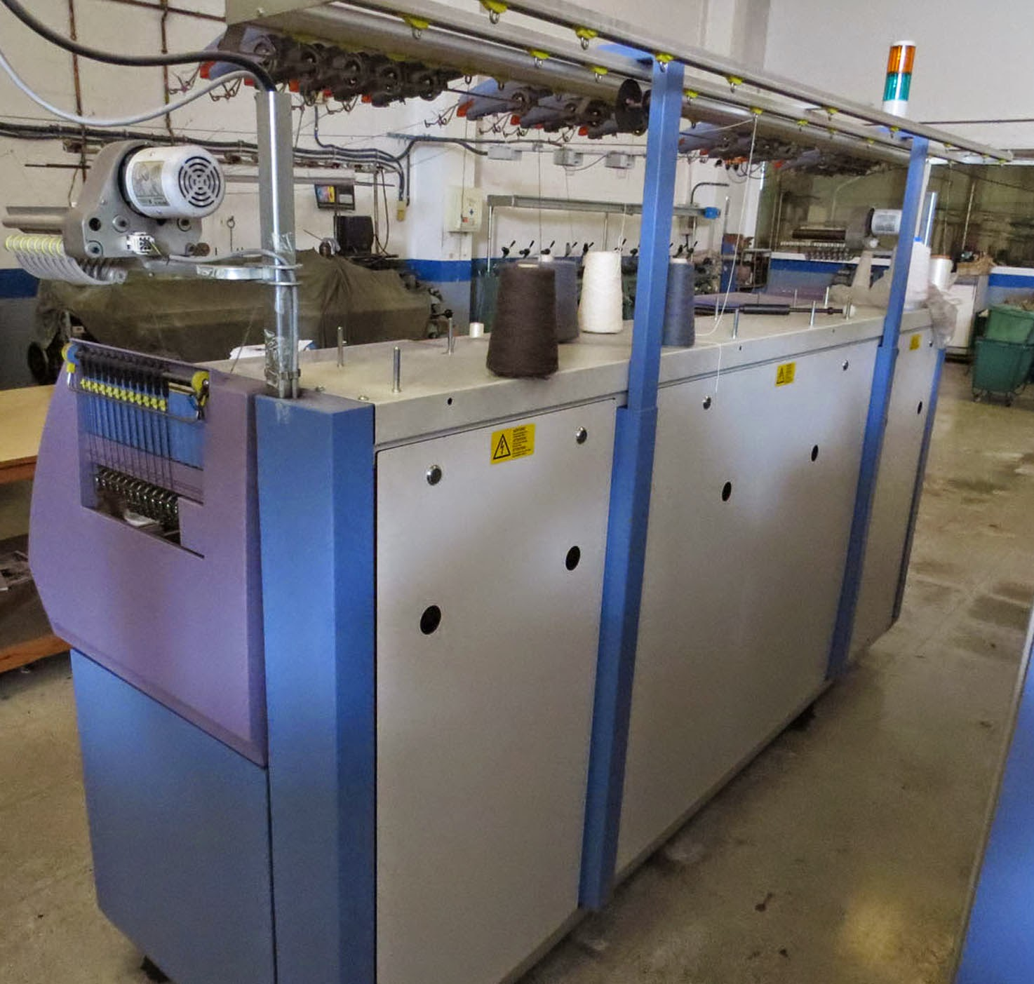 Knitting Machine For Sale : Ref es moc stoll cms flat knitting machine for sale