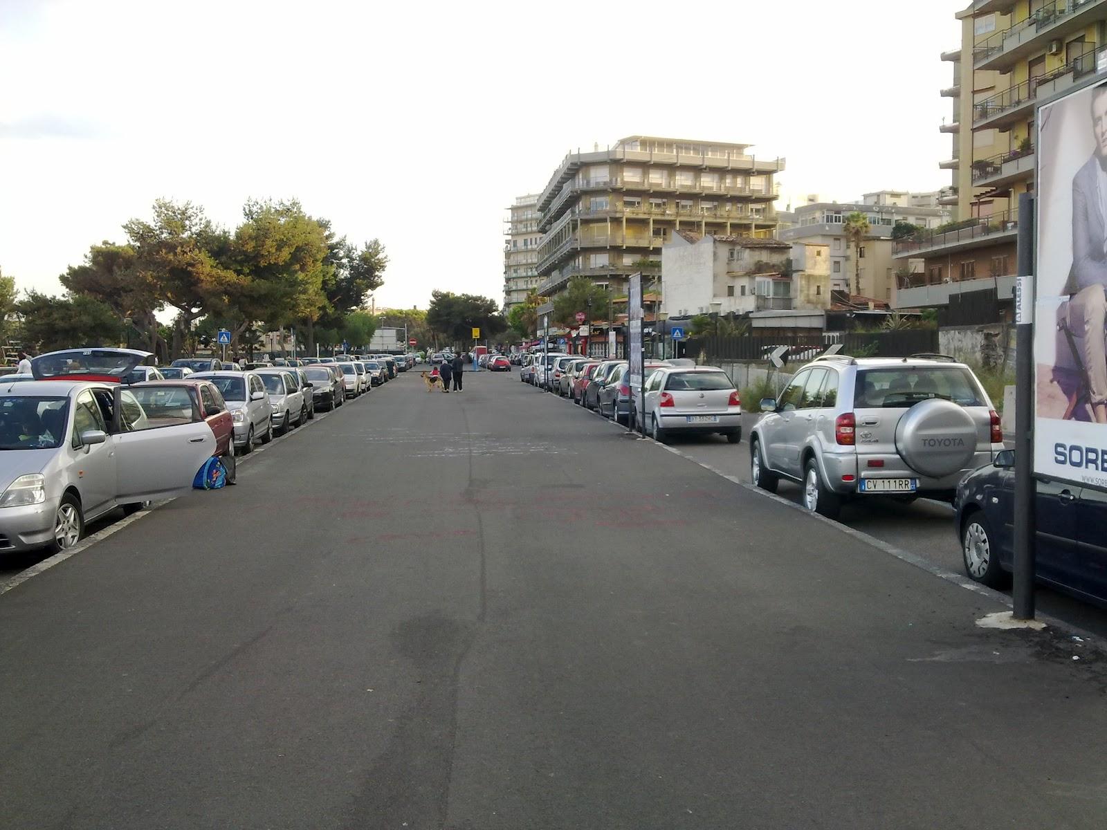 Urbanfile catania viale alcide de gasperi dai pini for Arredo in via cavaliere catania