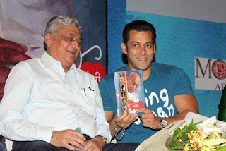 Salman Khan Unveil of Mahatma Gandhi and Cinema book