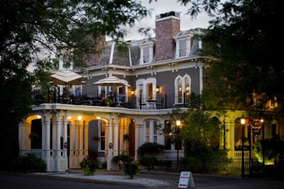 Haunted Forepaugh's Restaurant, formerly Forepaugh's Mansion is the scene of love affair between two ghosts from days gone by