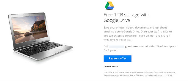 1TB Google Drive storage