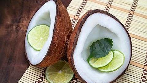 وصفة الليمون وجوز الهند لتساقط الشعر