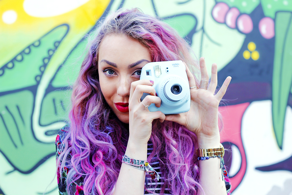 Snapping the summer of love with a Fuji Instax