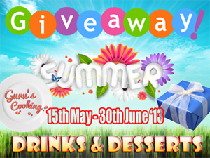http://guruscooking.com/giveaway-summer-13-drinks-desserts/