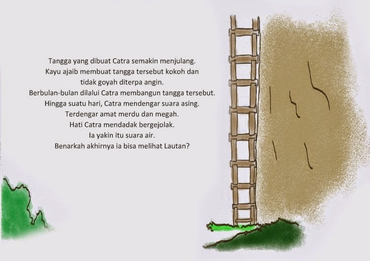 pictorial-story-tangga-kayu-kartun