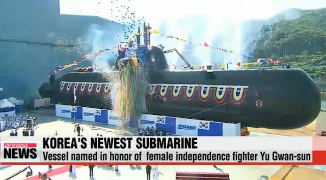 Yu Gwan-sun (Type 214 class) SSK