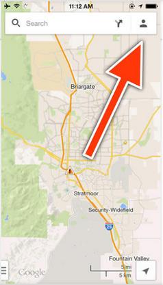 cara memakai google maps di android