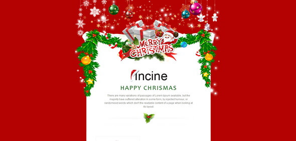 Incine – Premium Responsive E-mail Template