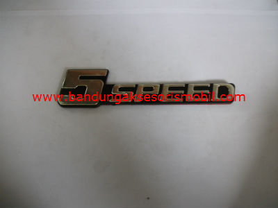 Emblem Car Logo 5 Speed