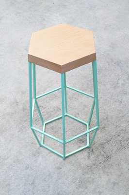 Yi Wei Lim, yiweilim, yiweilim blogspot, woodsmithe, woodsmithe design, timber and ore, timber & ore, bar stools, geometric, geometric design, geometric accessories, geometric home decor, geometric homeware, interior design, interior decor, unique chairs, geometric chairs