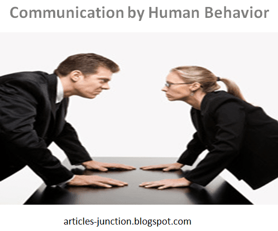 Communication by human behavior