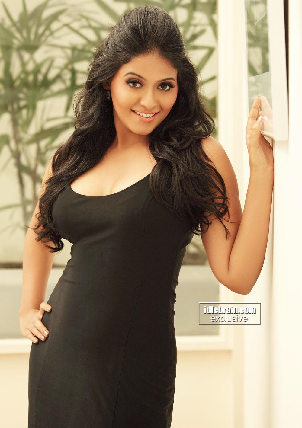 Anjali black boobs