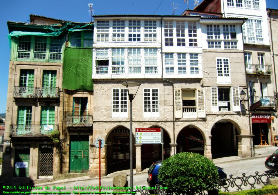Ourense, calle de la Barreira
