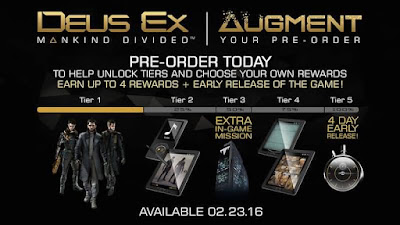 deus ex Mankind divided preorder